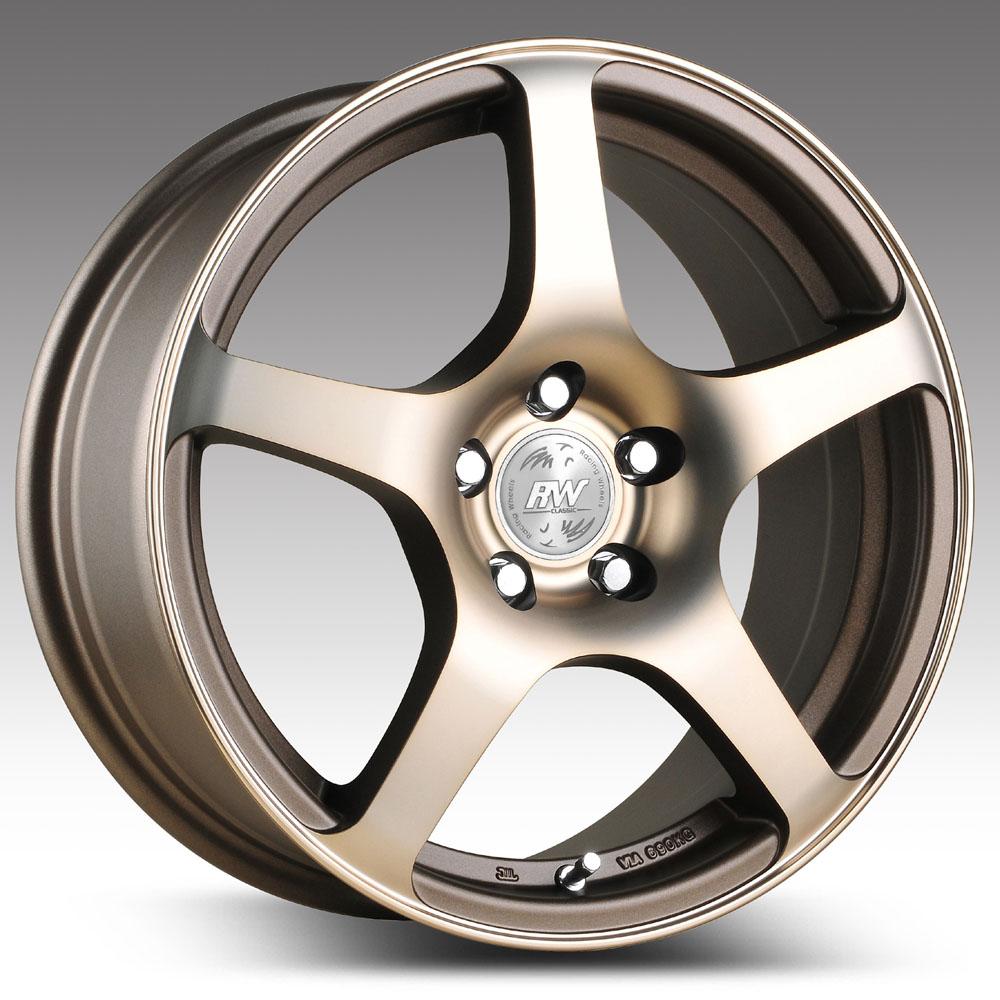 Купить H-125 7x16/5*105 D56.6 ET39 W F/P, Диск литой Racing Wheels Classic