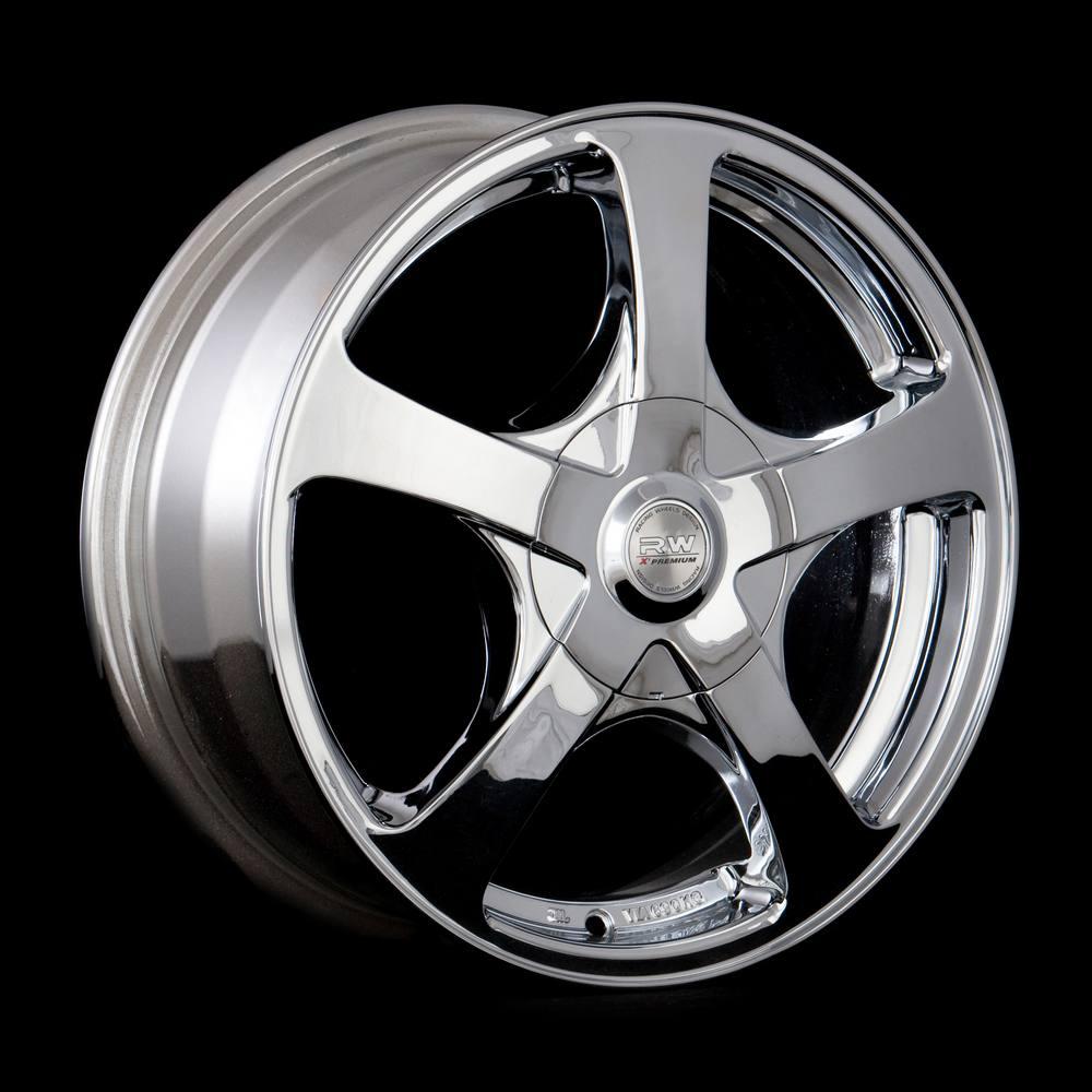 Купить H-340 RW Premium 6x15/4*114.3 D73.1 ET43 Chrome, Диск литой Racing Wheels Premium