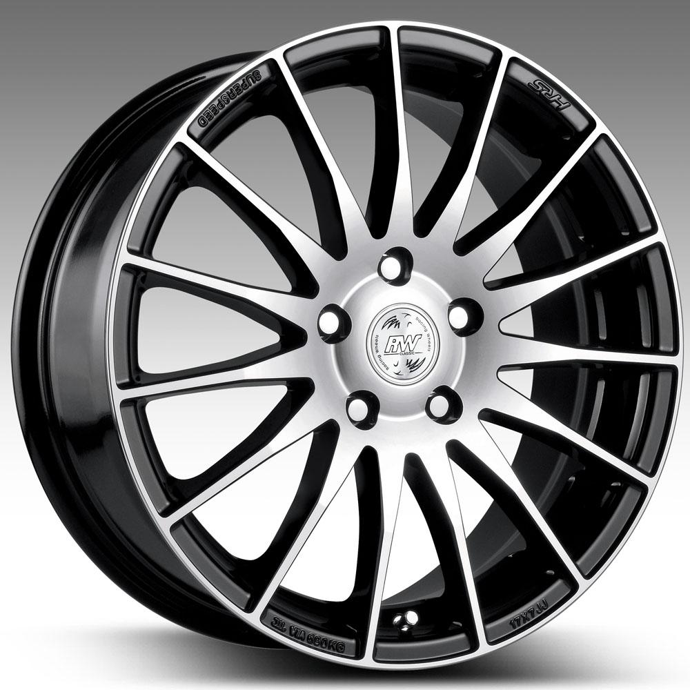 H-428 6.5x15/5*105 D56.6 ET39 HS HP, Диск литой Racing Wheels Classic  - купить со скидкой