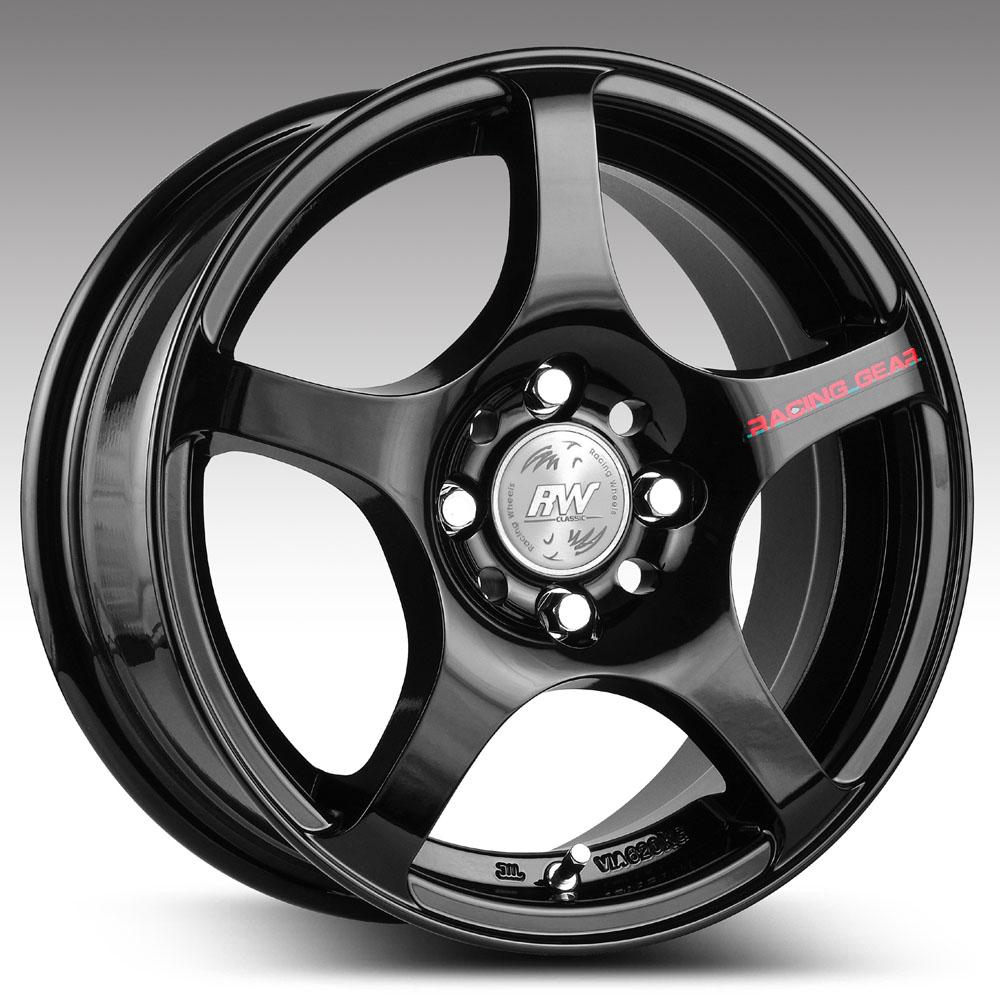 Купить H-125 7x16/4*98 D58.6 ET35 BK F/P, Диск литой Racing Wheels