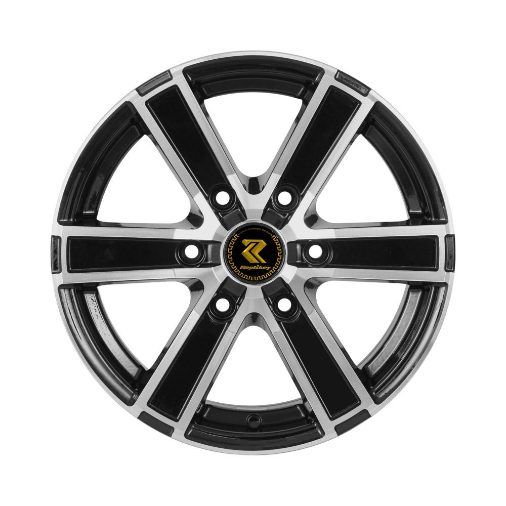 Купить Hyundai Grand Starex RK9623 6.5x16/6*139.7 D92.5 ET40 BKF, Диск литой RepliKey