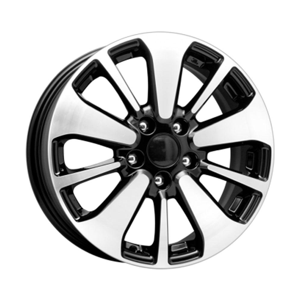 Купить КС688 (Nissan Qashqai) 6.5x16/5*114.3 D66.1 ET40 Алмаз-черный, Диск литой K&K