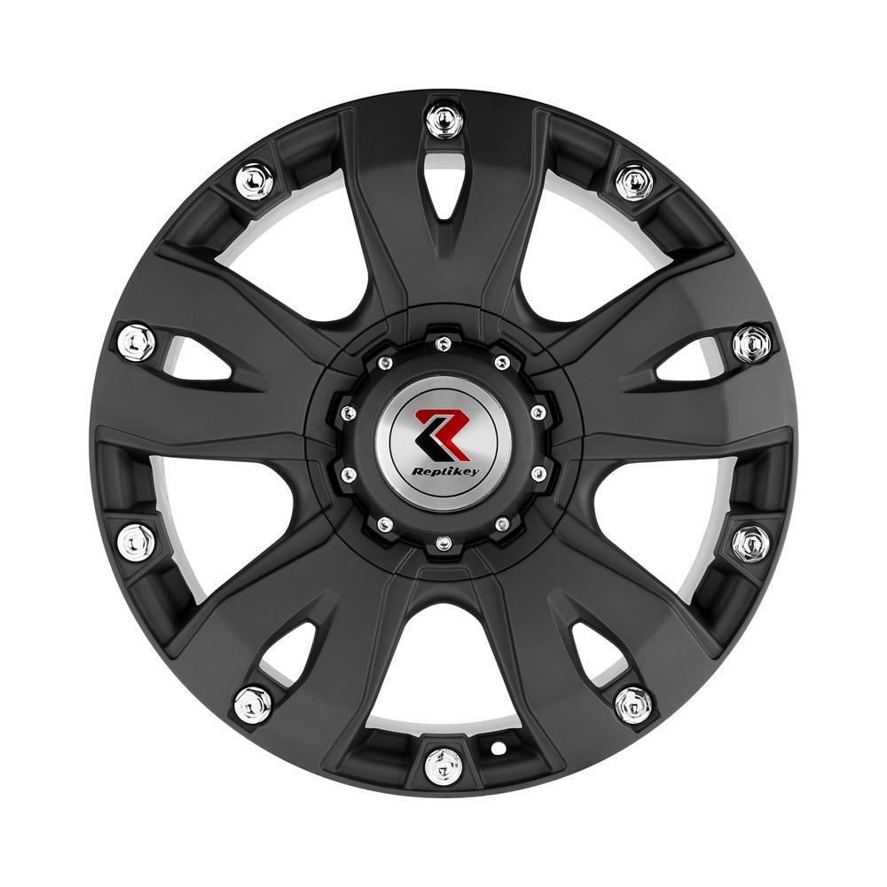 Купить Nissan Patrol RK1016 9x20/6*139.7 D77.8 ET30 Matt Black Monster, Диск литой RepliKey