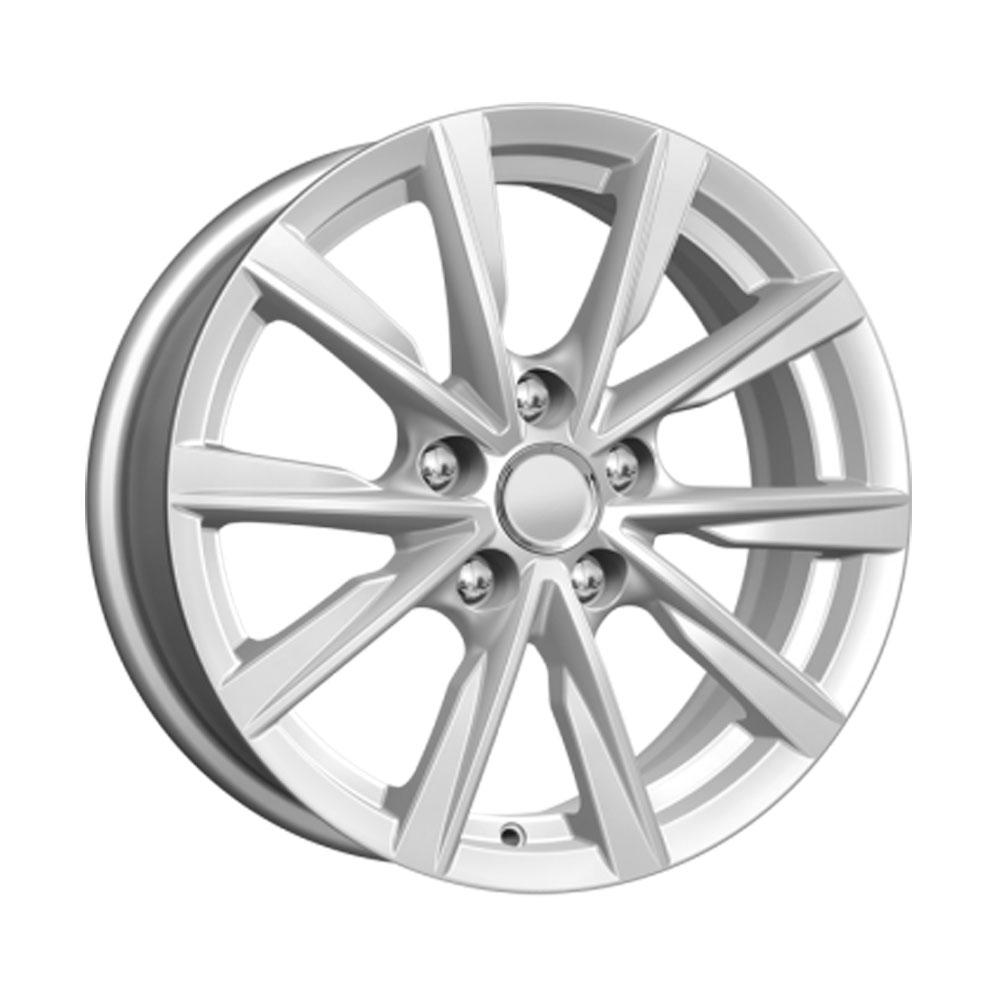 Купить КС682 (Nissan Juke) 6.5x16/5*114.3 D66.1 ET40 Silver, Диск литой K&K