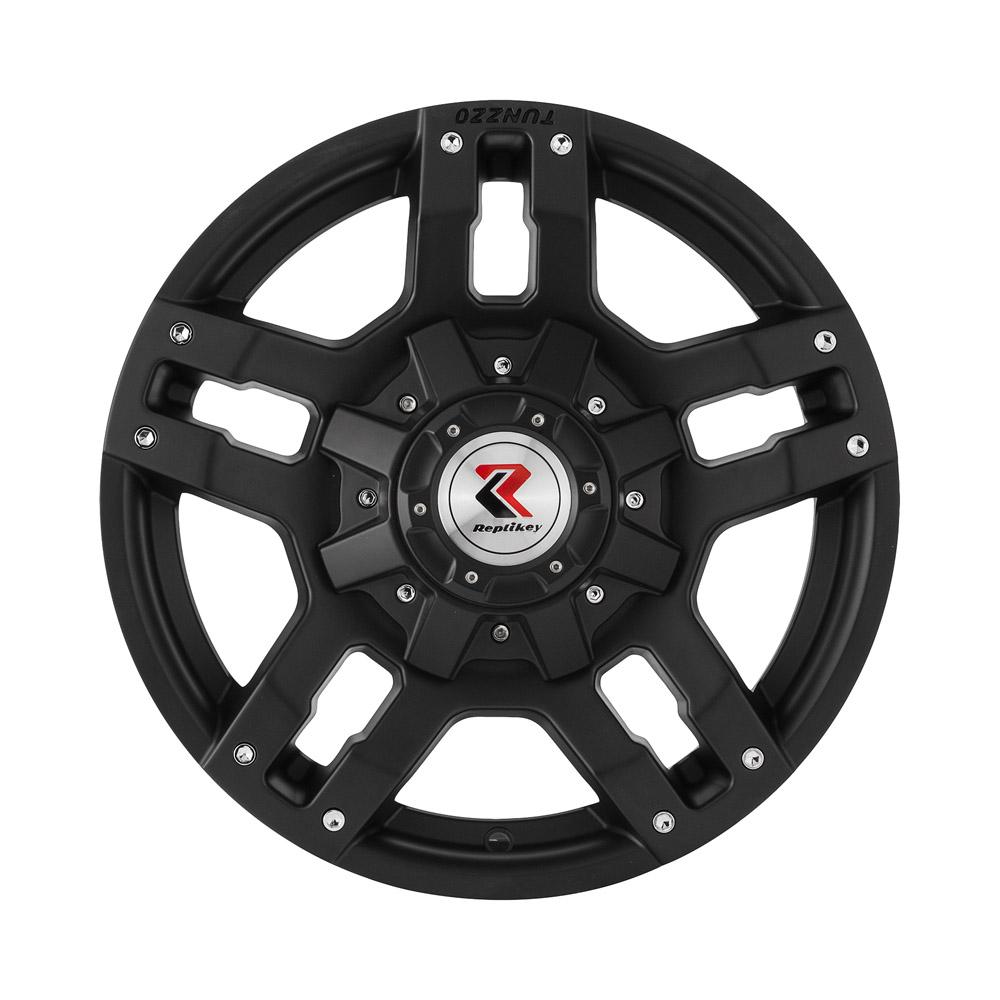 Купить Mitsubishi Pagero IV RK35387 8x18/6*139.7 D67.1 ET46 Matt Black, Диск литой RepliKey