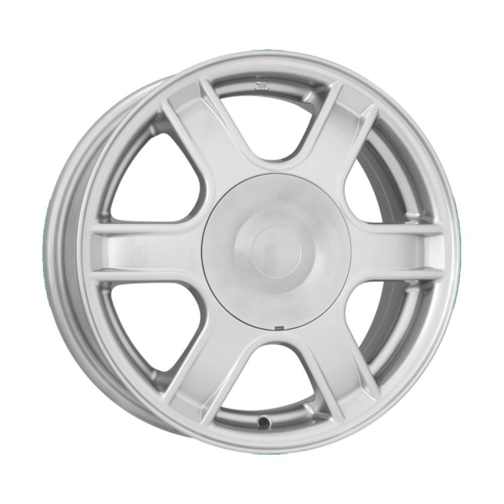 Купить КС576 (Renault Logan) 5.5x14/4*100 D60.1 ET43 Silver, Диск литой K&K