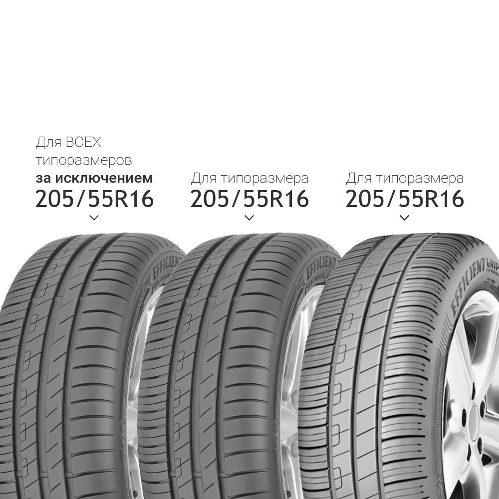 Купить Efficient Grip Performance 185/55 R15 82V, Летние шины GoodYear
