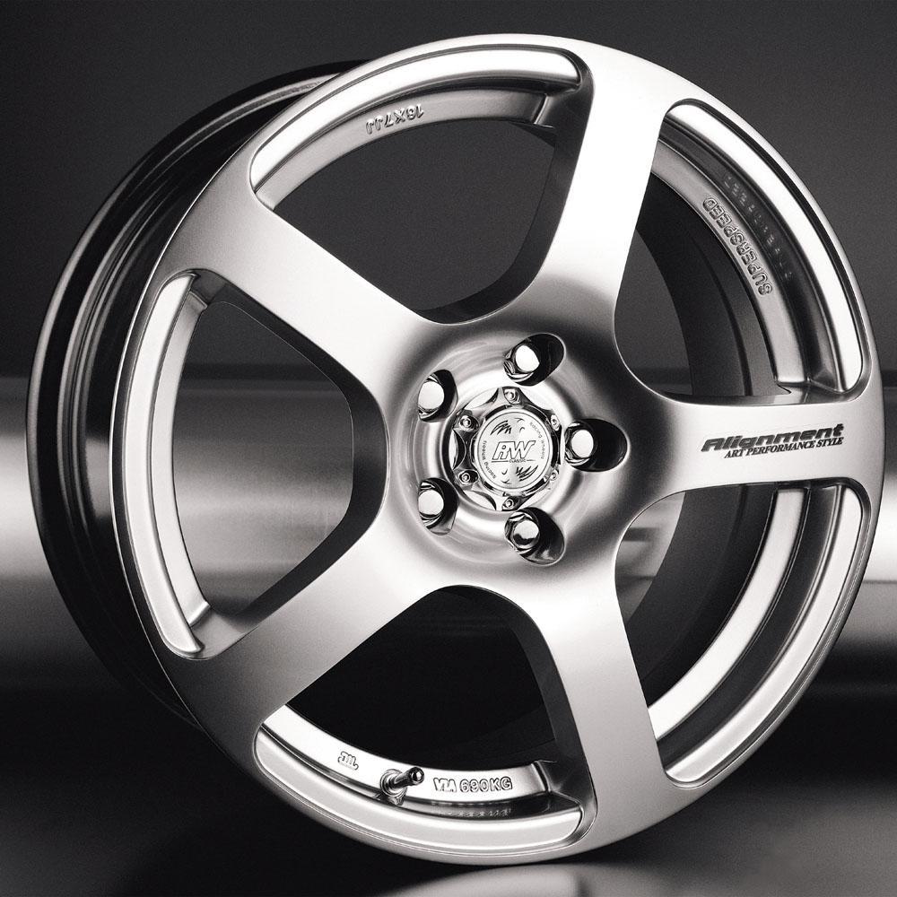 Купить H-218 7x16/5*114.3 D60.1 ET45 W, Диск литой Racing Wheels Classic