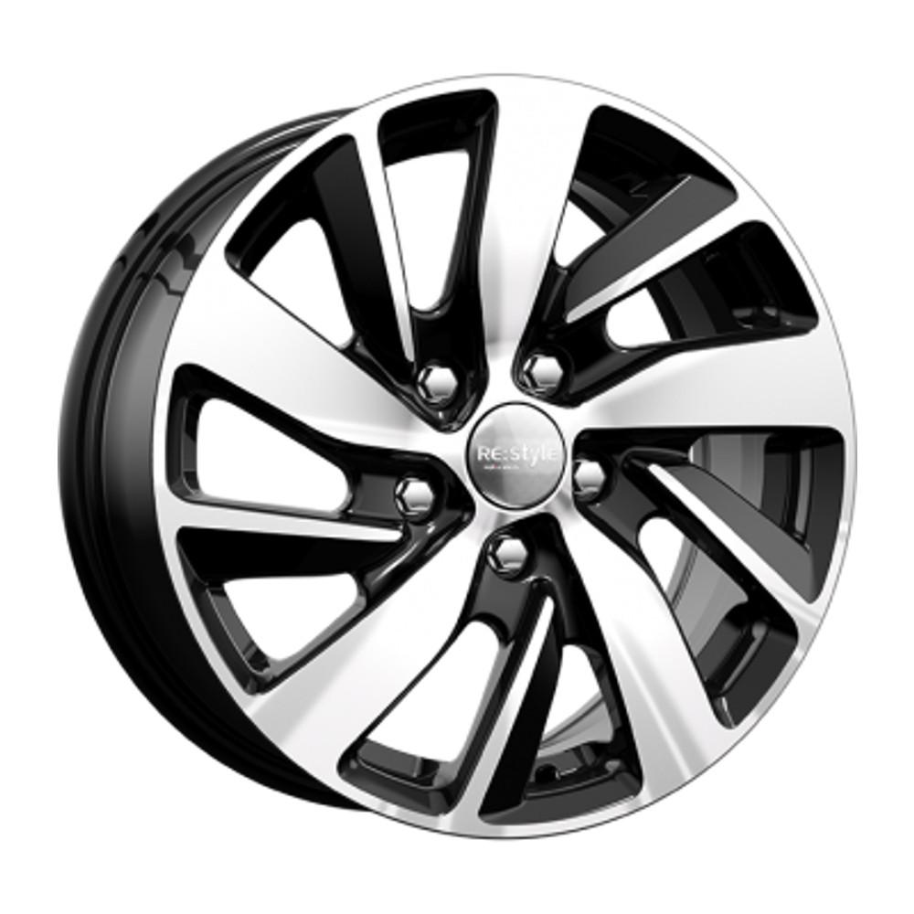 Купить КС741 (Skoda Octavia) 6.5x16/5*112 D57.1 ET46 Алмаз-черный, Диск литой K&K
