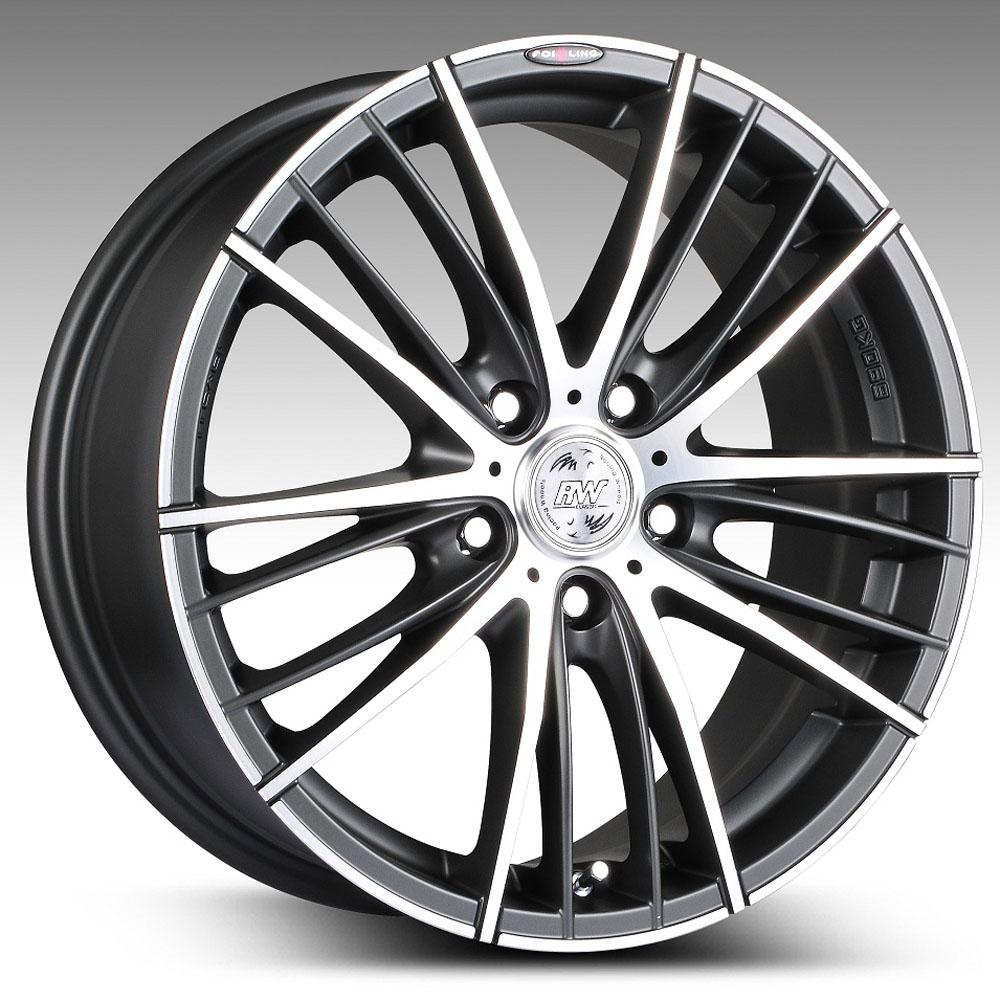 Купить H-551 7x16/5*105 D56.6 ET40 DB F/P, Диск литой Racing Wheels Classic