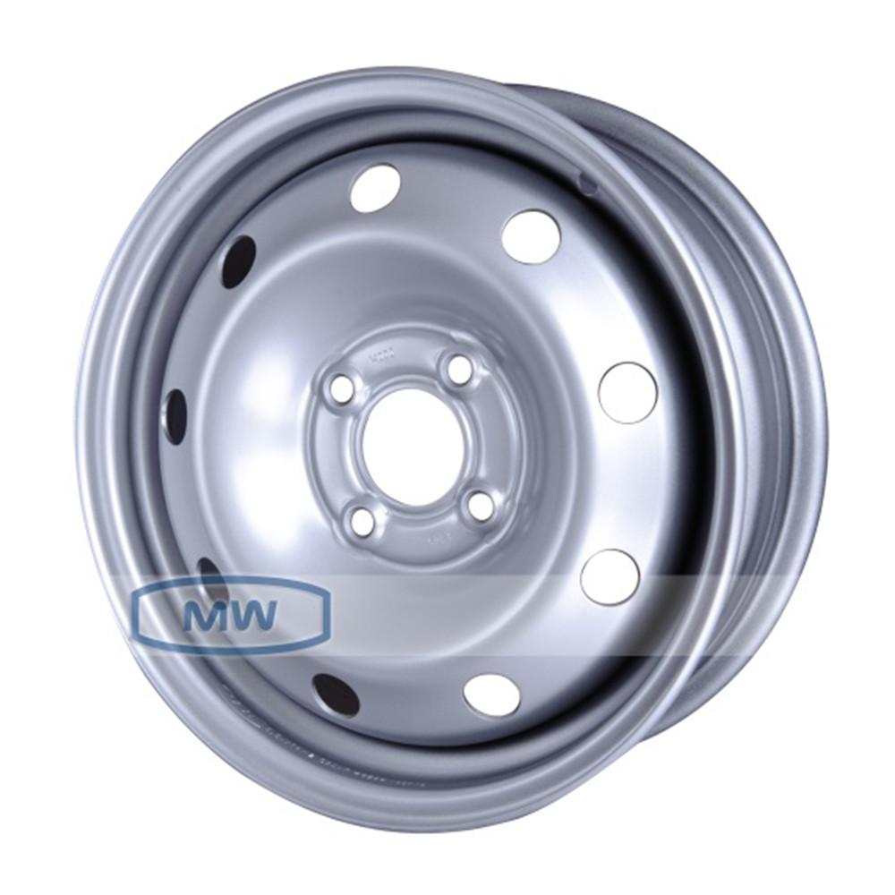 Купить Renault 14012 14000 5.5x14/4*100 D60.1 ET43 silver, Диск штампованный Magnetto