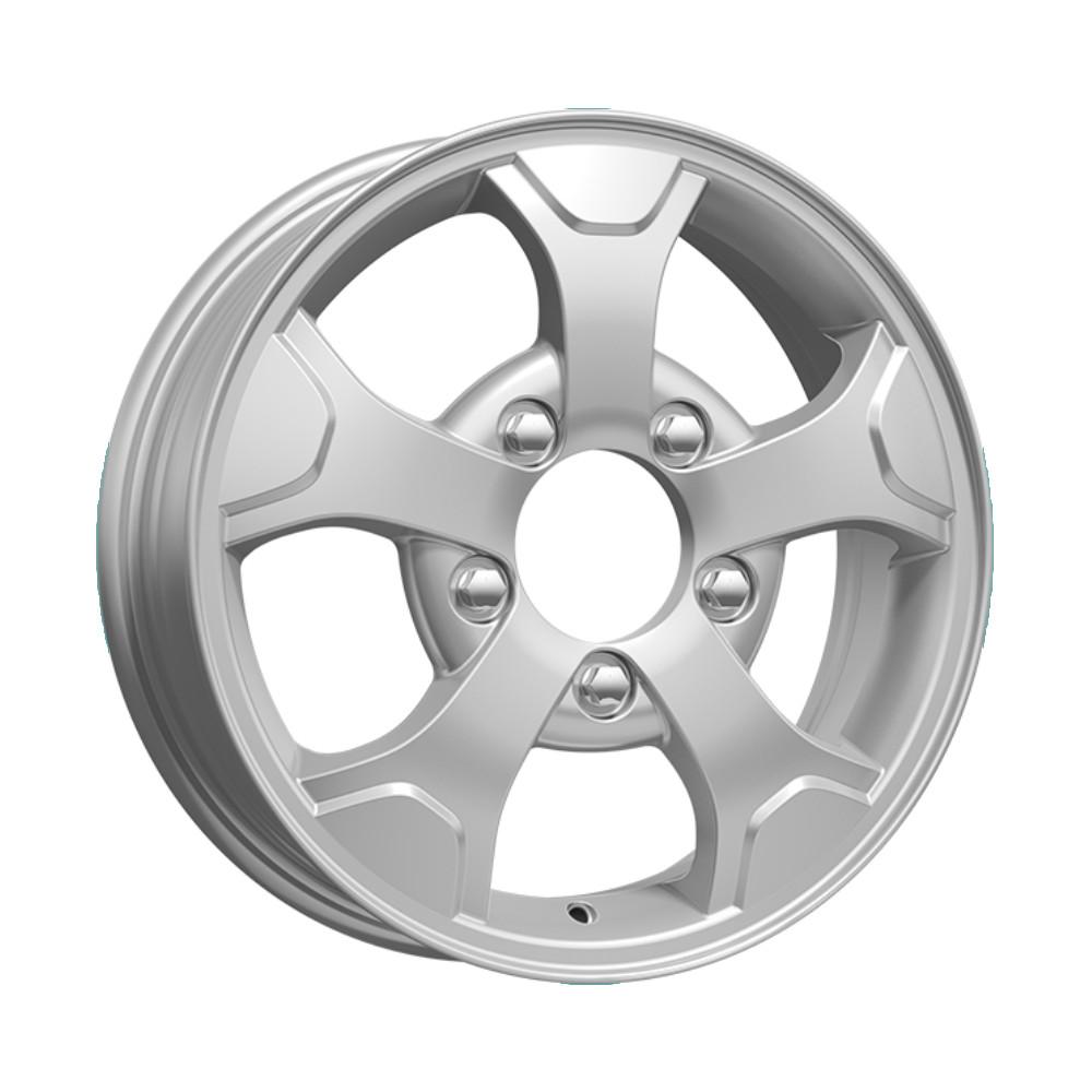 КС657 (Нива-оригинал) 5x16/5*139.7 D98 ET58 Silver, Диск литой K&K  - купить со скидкой