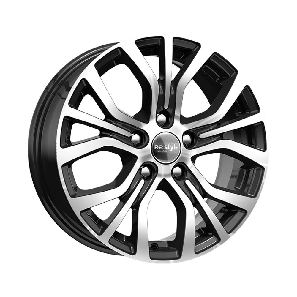 Купить КС736 (Nissan Qashqai) 6.5x16/5*114.3 D66.1 ET40 Алмаз-черный, Диск литой K&K