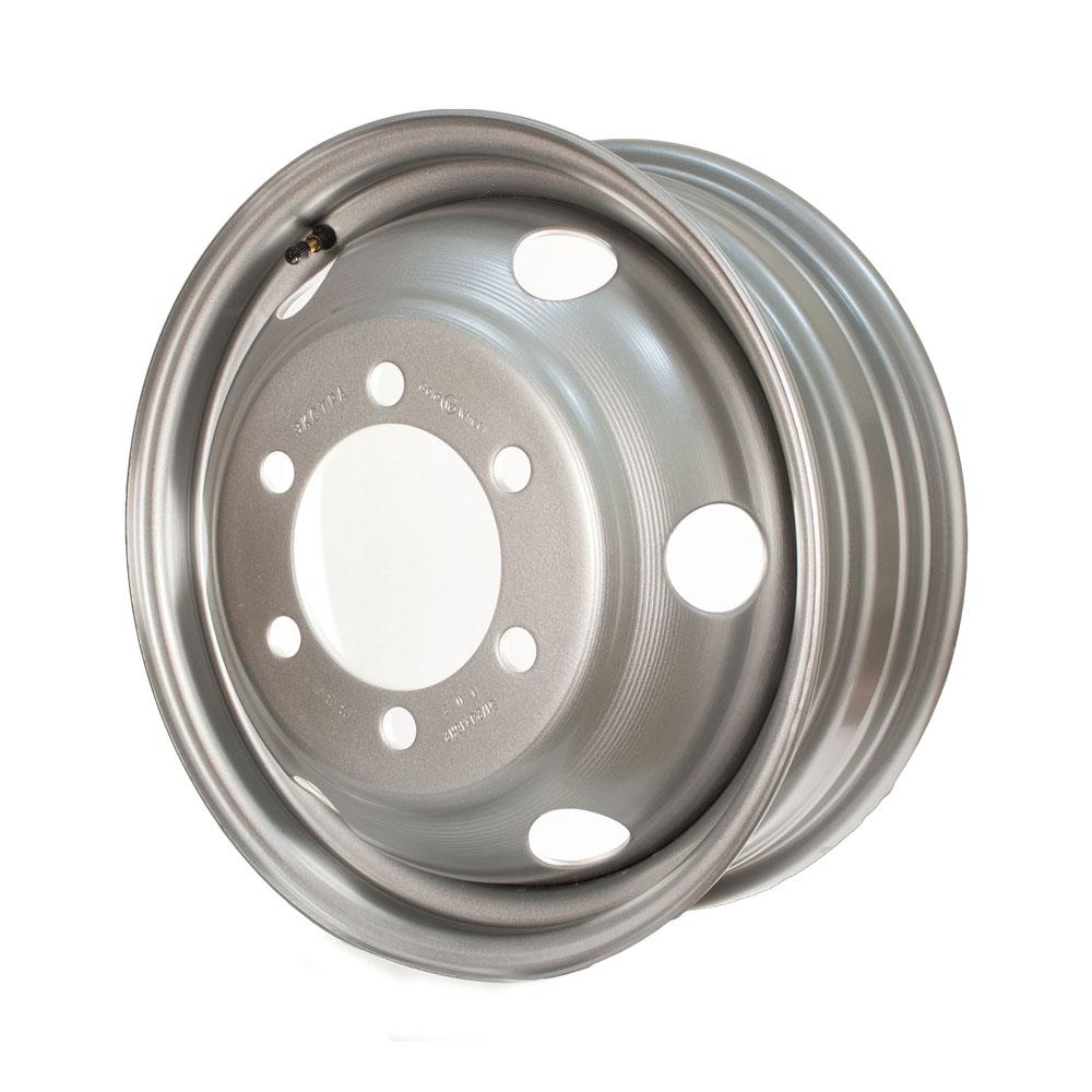 Купить Газель Экстра усиленная 1200 кг в коробке 5.5x16/6*170 D130 ET102, Диск штампованный Gold Wheel