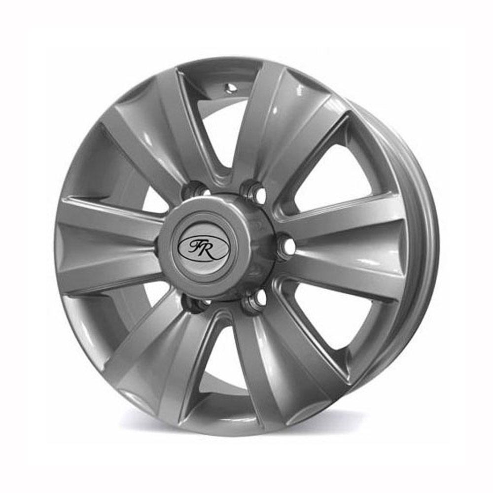 Купить Ssang Yong Rexton 6619-ВК-042 7x16/6*139.7 D108 ET43 Silver, Диск литой Replica FR