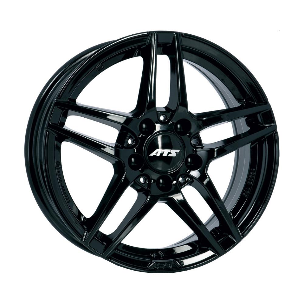 Купить Mizar 7.5x17/5*112 D66.5 ET40 Diamond Black, Диск литой ATS