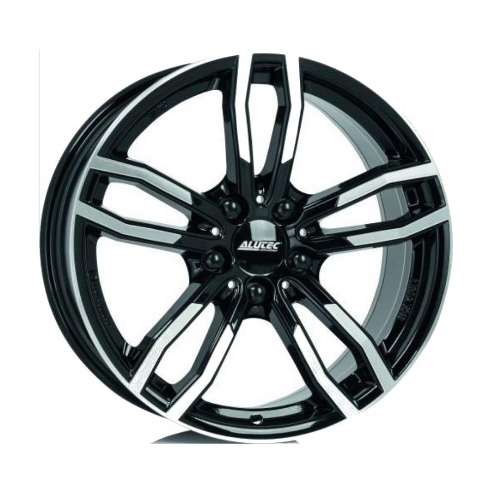 Drive 8x18/5*120 D72.6 ET30 Diamond Black Front Polished, Диск литой Alutec  - купить со скидкой