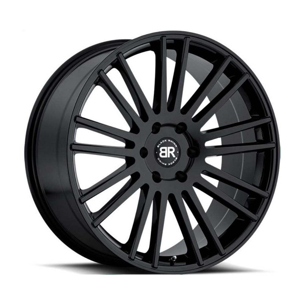 Купить Kruger 9x20/5*150 D110.1 ET25 Gloss Black, Диск литой Black Rhino