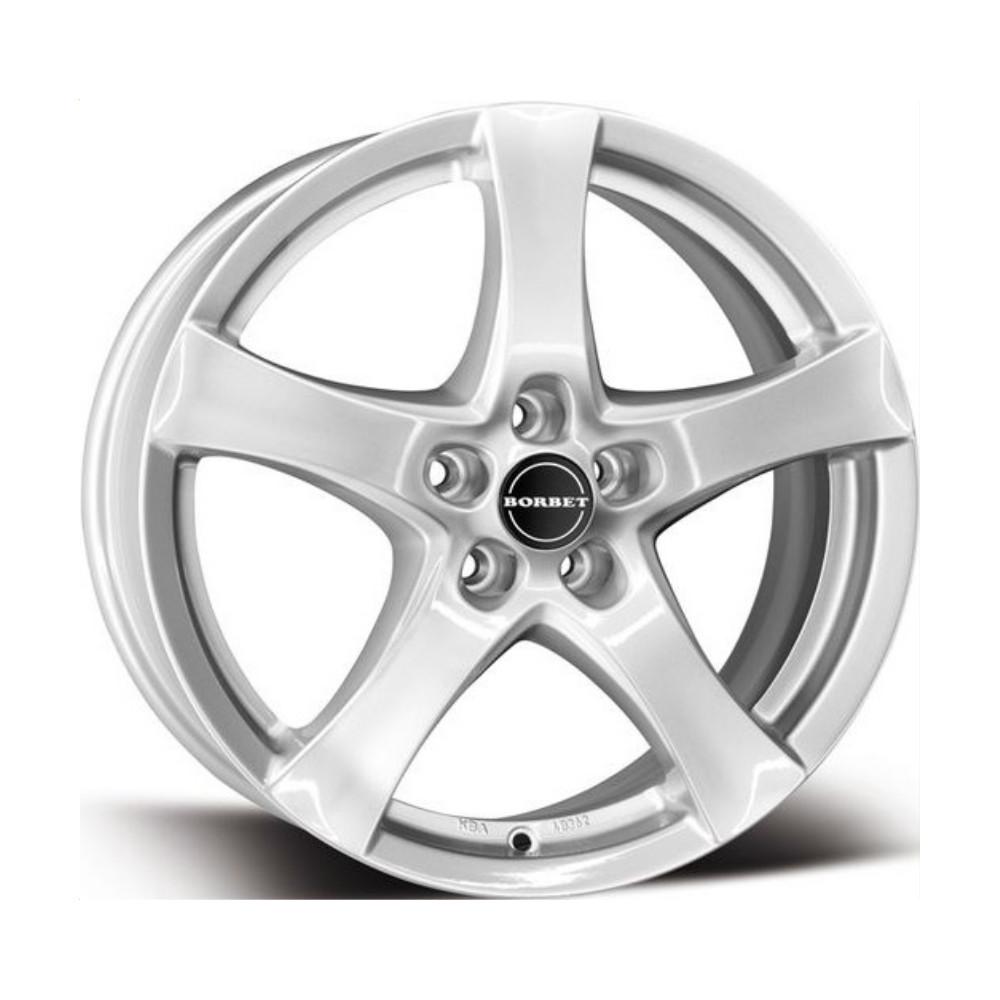 Купить F 6.5x16/5*112 D72.5 ET50 Black Glossy, Диск литой Borbet