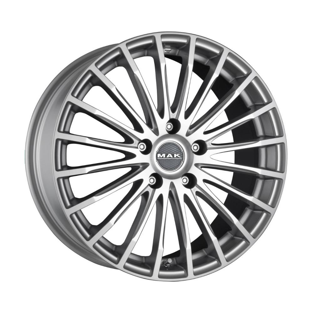 Купить Fatale 8x18/5*114.3 D76 ET40 Silver, Диск литой MAK