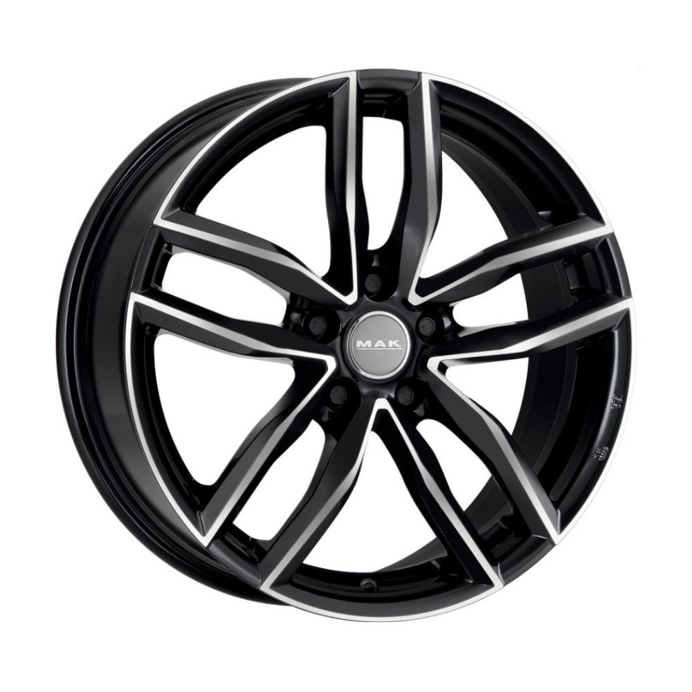 Купить Sarthe 8x18/5*112 D66.45 ET39 Black Mirror, Диск литой MAK