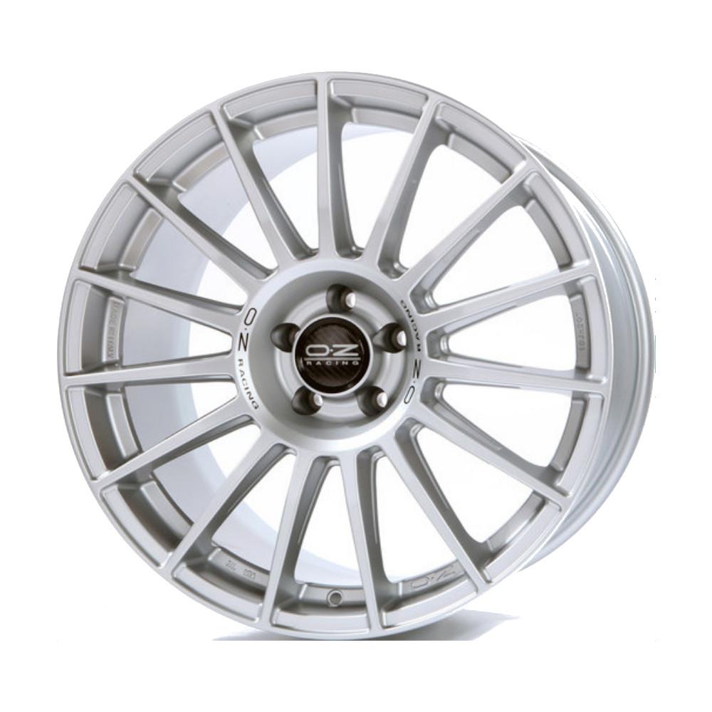 Купить Superturismo LM 8.5x19/5*120 D79 ET34 Matt Race Silver Black Lettering, Диск литой OZ Racing