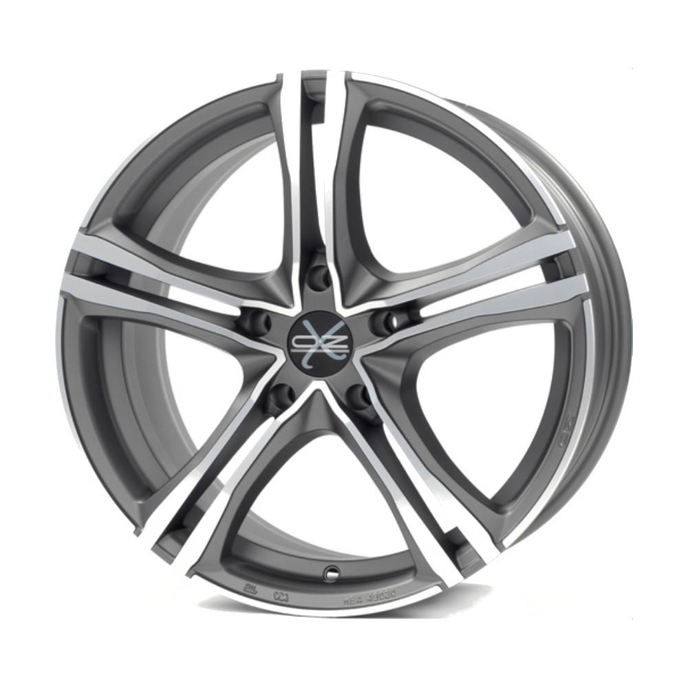 Купить X5B 7x16/5*114.3 D75 ET40 Matt Graphite Diamond Cut, Диск литой OZ Racing