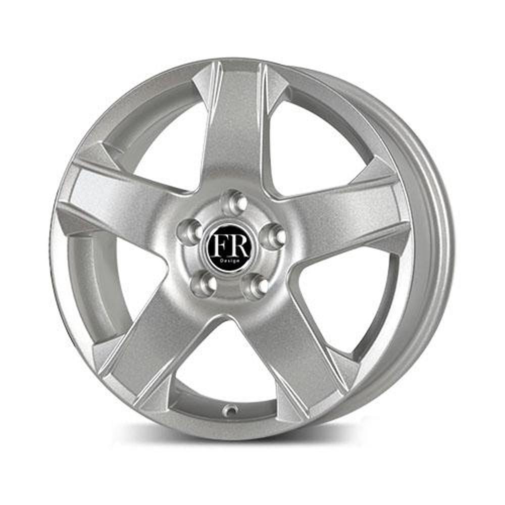 Купить Chevrolet GN35 7x17/5*105 D56.6 ET42 Silver, Диск литой Replica FR