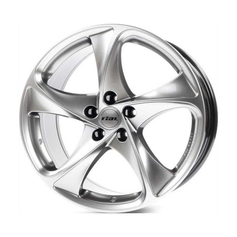 Купить Catania 8x17/5*112 D70.1 ET45 Sterling Silver, Диск литой Rial