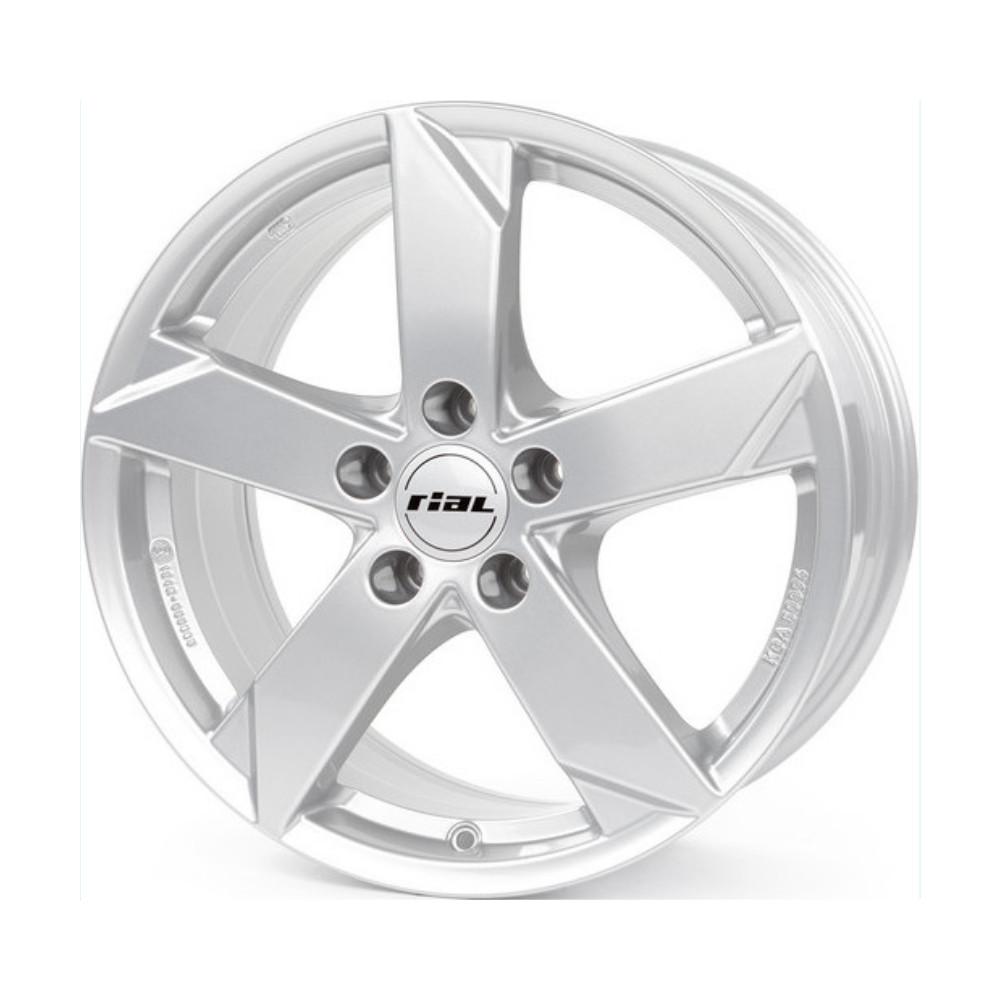 Купить Kodiak 7.5x18/5*112 D57.1 ET51 Polar Silver, Диск литой Rial