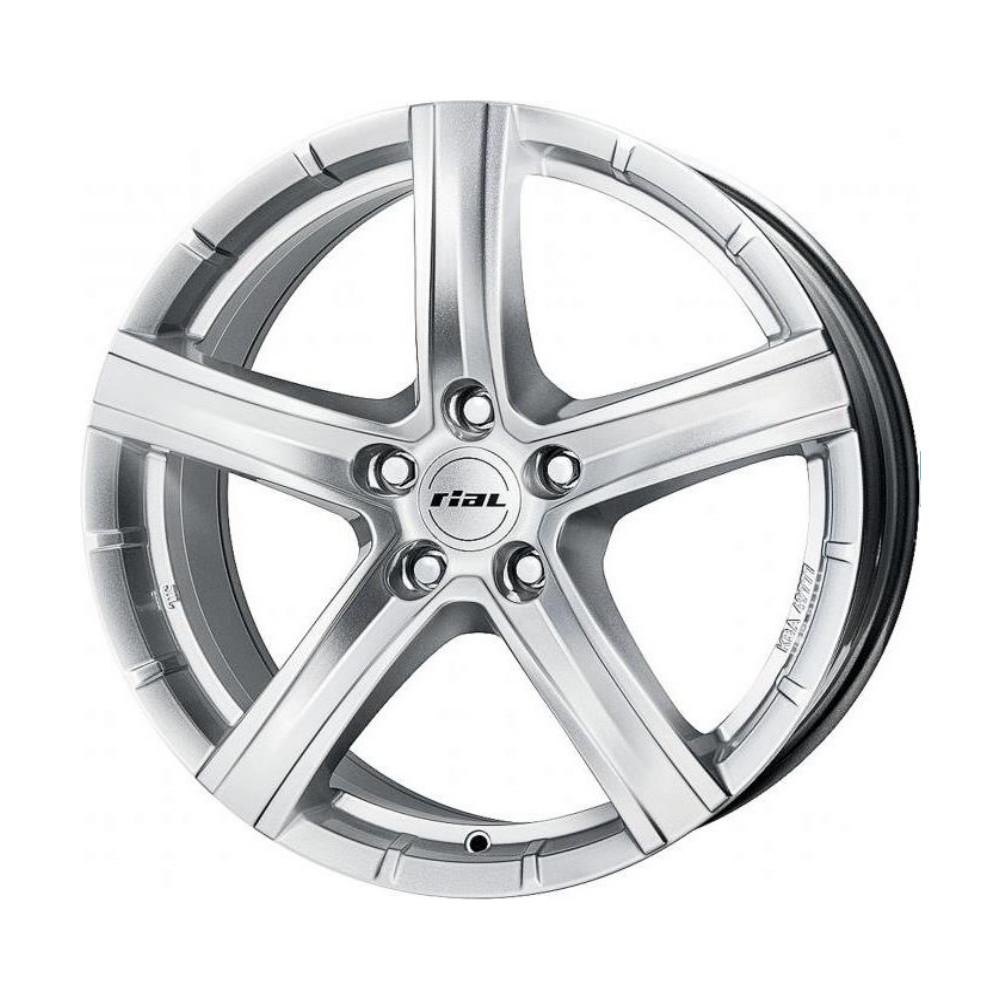 Купить Quinto 9x19/5*130 D71.5 ET60 Polar Silver, Диск литой Rial