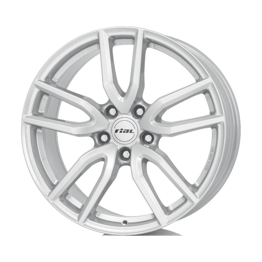 Купить Torino 8x18/5*112 D70.1 ET45 Polar Silver, Диск литой Rial
