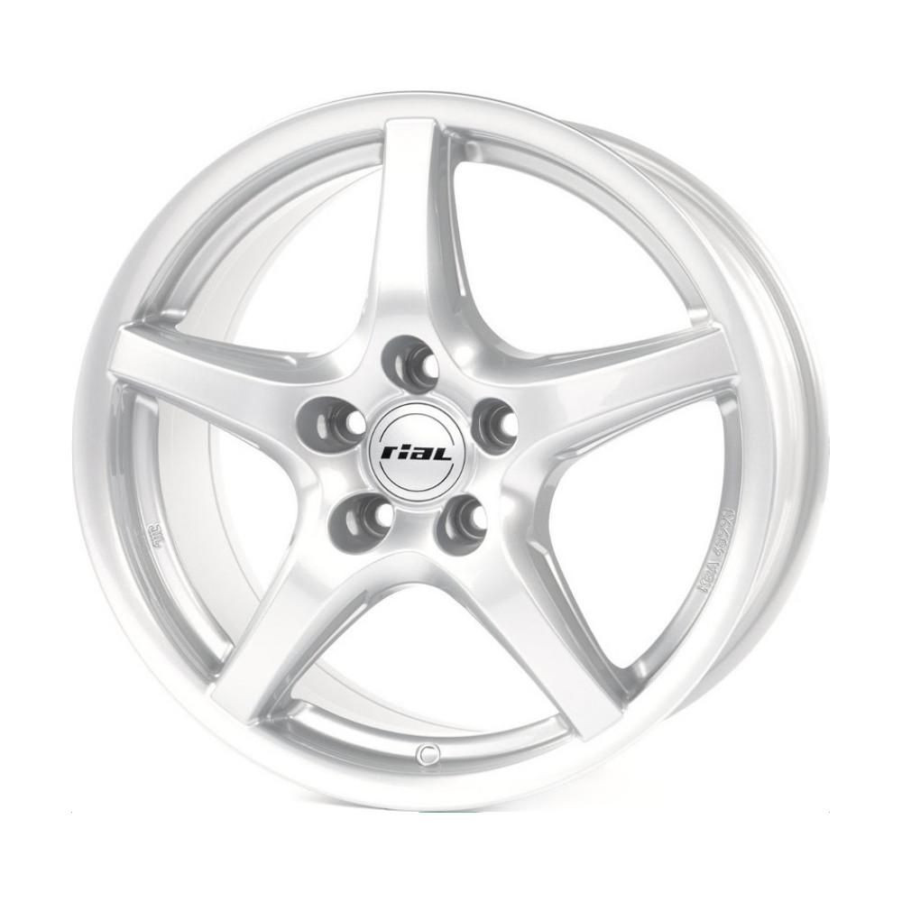 Купить U1 6.5x16/5*108 D63.4 ET50 Polar Silver, Диск литой Rial