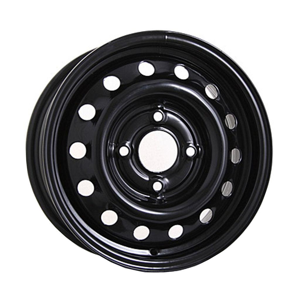 Купить Volkswagen 7755 6x15/5*112 D57.1 ET43 Black, Диск штампованный Trebl