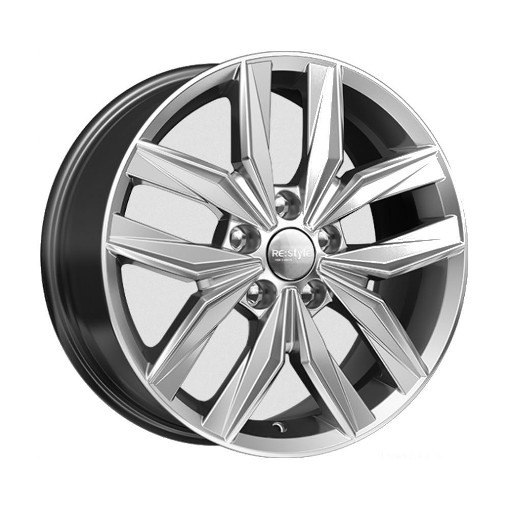 Купить КС774 (Nissan Qashqai) 7x17/5*114.3 D66.1 ET40 Дарк платинум, Диск литой K&K