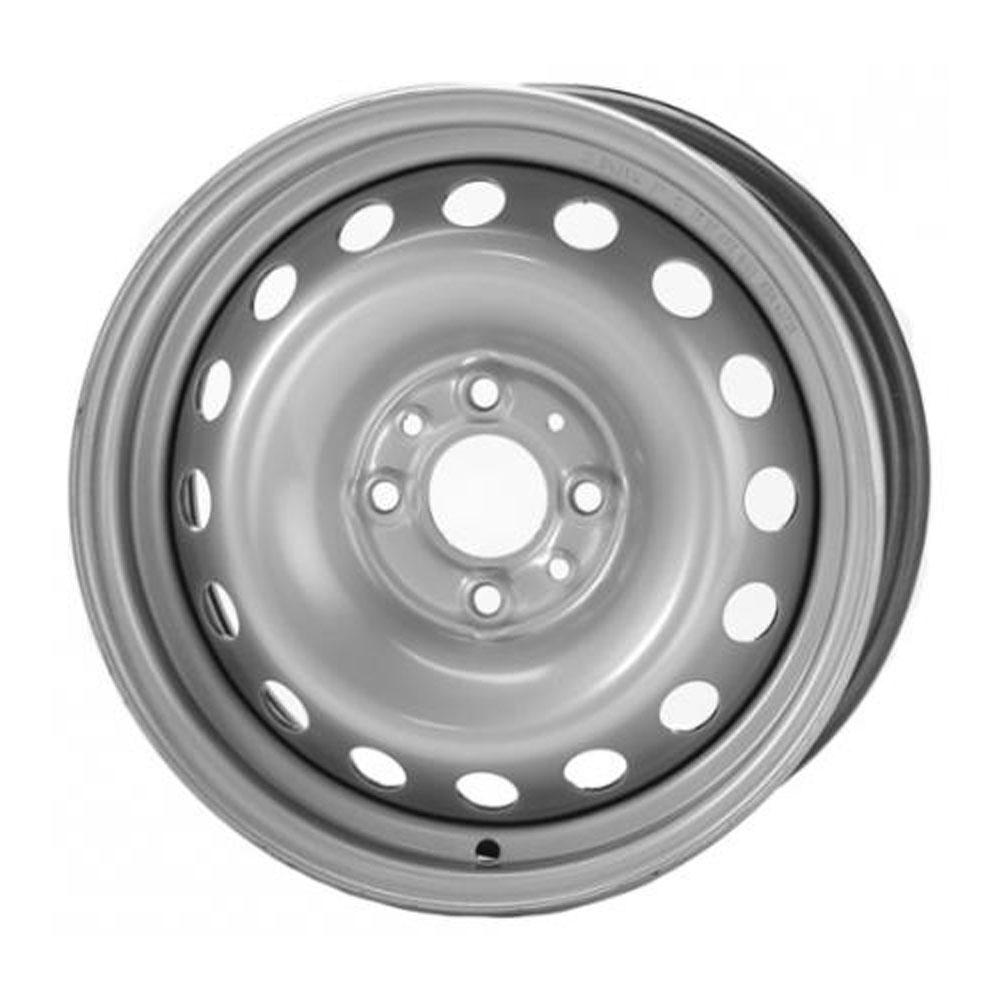 Купить Hyundai 8114 P 6x15/4*100 D54.1 ET48 Silver, Диск штампованный Trebl
