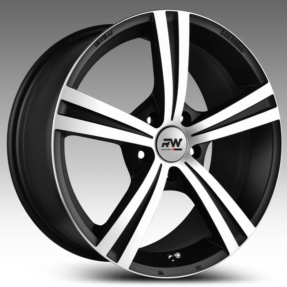 Купить H-787 8x18/5*114.3 D67.1 ET35 DB F/P, Диск литой Racing Wheels