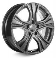 КиК Volkswagen Tiguan (КС673) 7x17 PCD5x112 ET43 Dia57.1 Дарк платинум