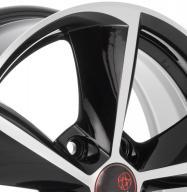 Remain Toyota Corolla (R160) 6.5x16 PCD5x114.3 ET45 Dia60.1 Алмаз-черный